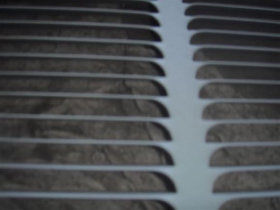 The debris inside this air conditioner will cause overheating and poor efficiency.